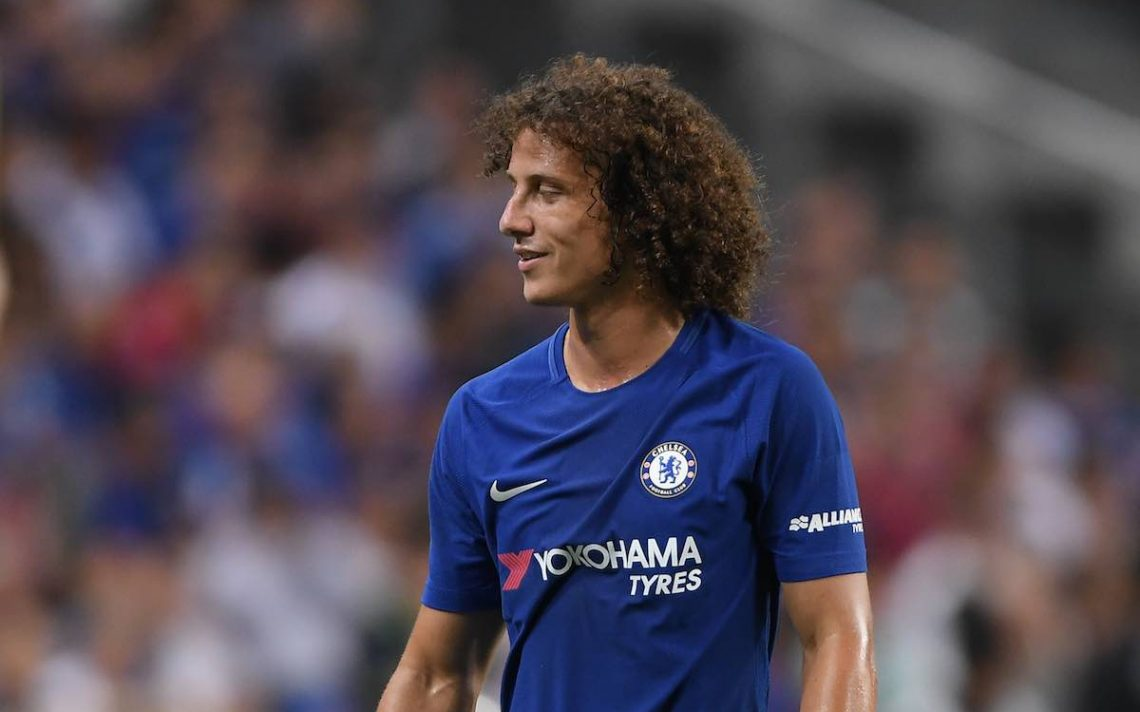 Video David Luiz performs pommel horse routine at Chelsea