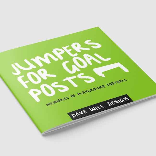 Football Christmas Gifts: Jumpers For Goal Posts by Dave Will Design