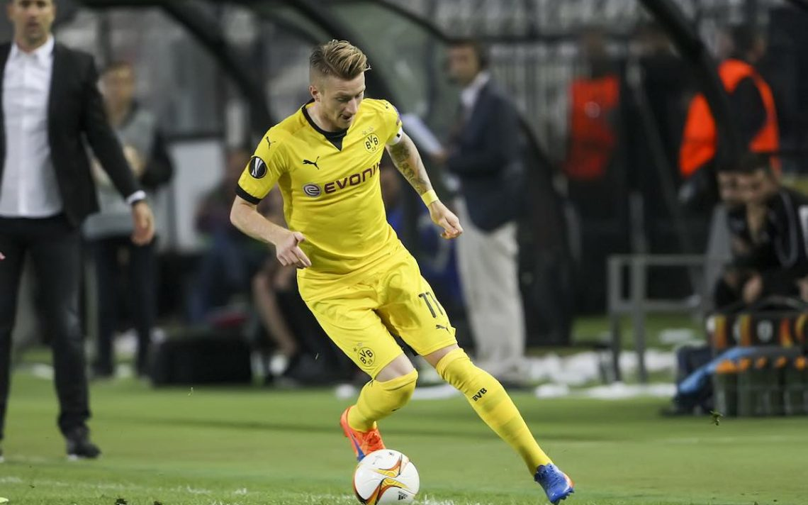 Marco Reus being tracked by Arsenal and Man Utd