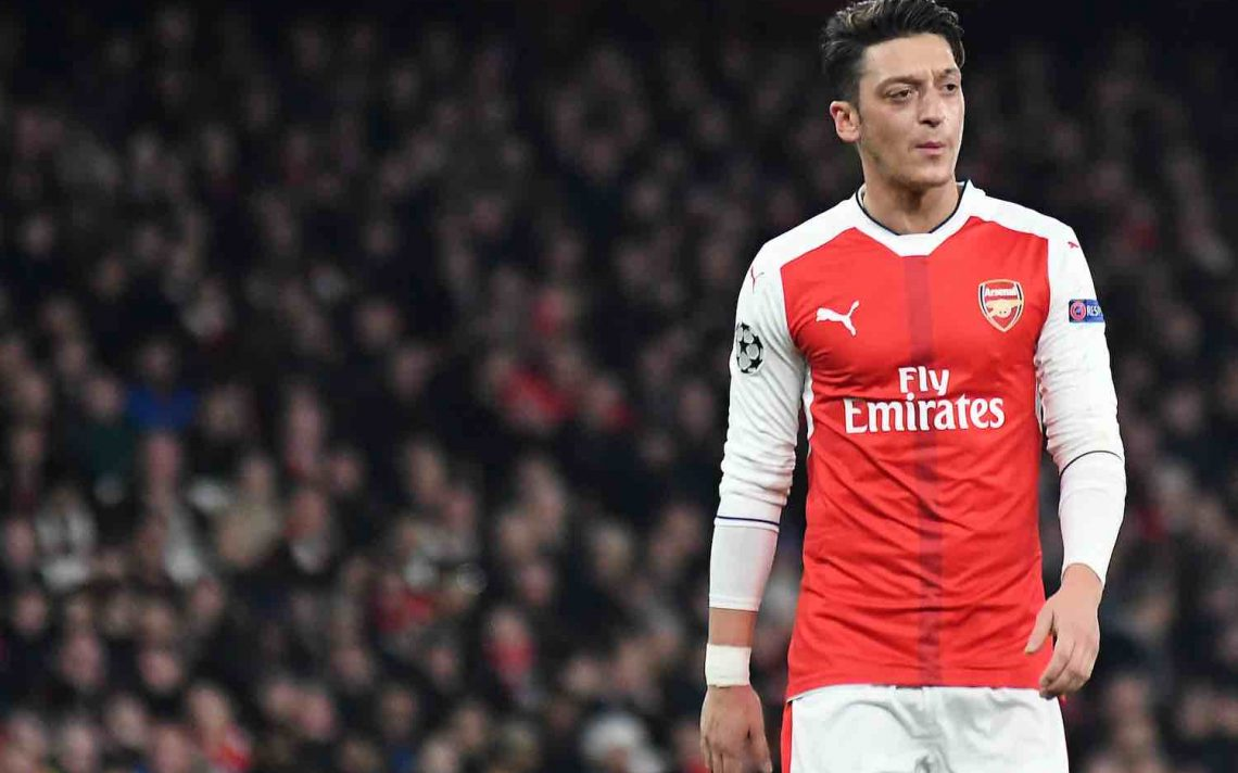 Mesut Ozil preparing to leave Arsenal on free transfer