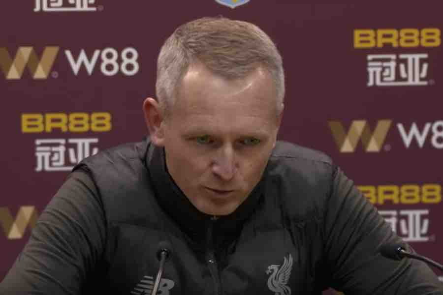 Video: Neil Critchley discusses Liverpool's 5-0 defeat at