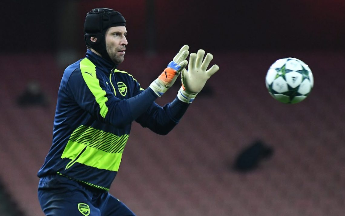 Petr Cech takes exception after journalist mocks his head