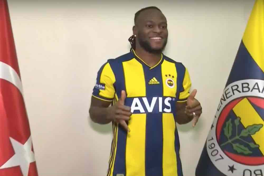 Photo: Victor Moses In Fenerbahce Kit After Loan Move From