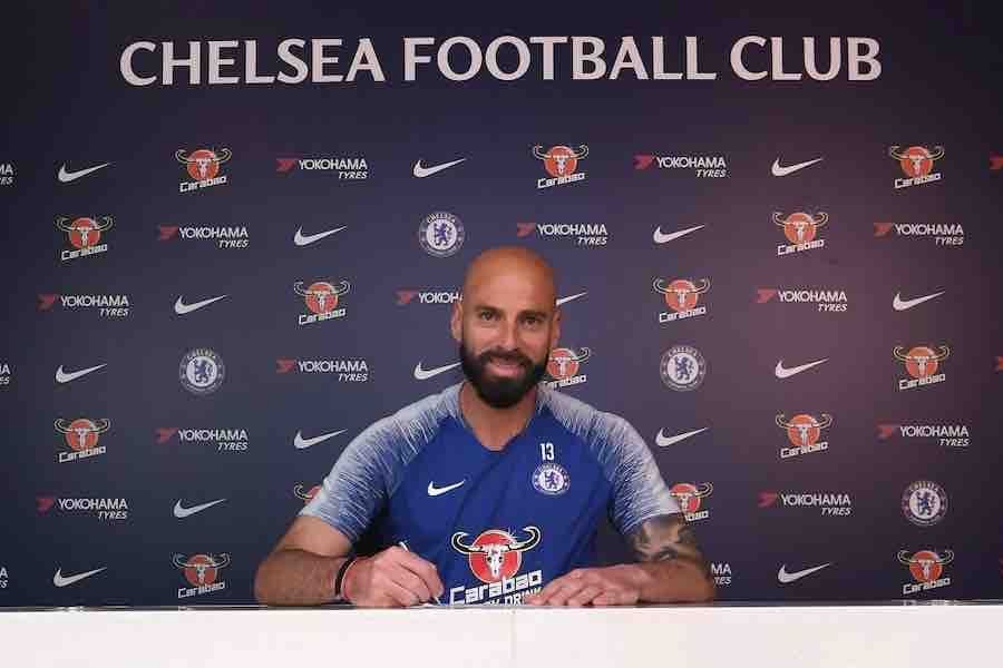 Photo: Willy Caballero signs new Chelsea contract | Off The Post