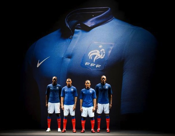 on sale 2bc27 4826e Kitman: New France home kit | Off The Post